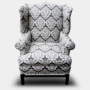 Upholstered Highback Chair